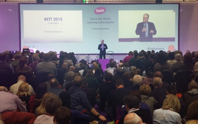 Sir Ken Robinson at BETT 2015