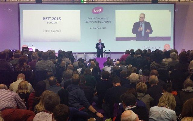 Sir Ken Robinson at BETT 2015