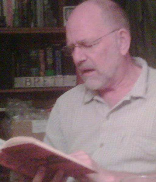 George Brett reading