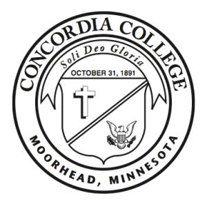 Concordia College seal