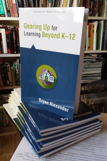 The cover of _Gearing Up for Learning Beyond K–12_