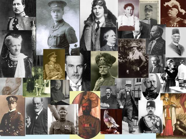 People photos from The First World War in 261 Weeks