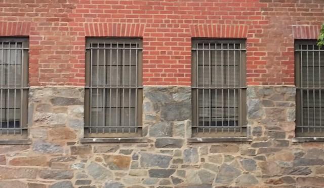 horizontal line through windows