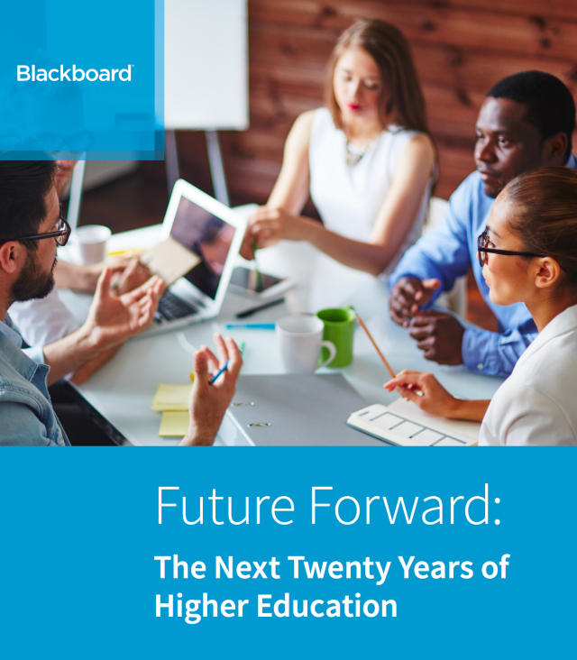 20 years into the future of education via blackboard bryan alexander