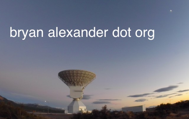 Bryan Alexander dot org