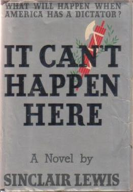 _It Can't Happen Here_ cover