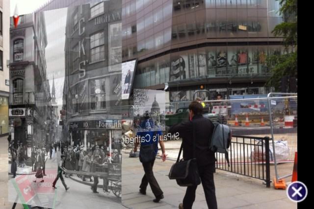 Street Museum App on Cheapside_Alan Levine
