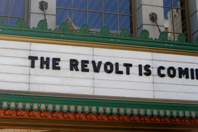 the revolt is coming