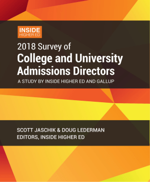 IHE admission officers' survey