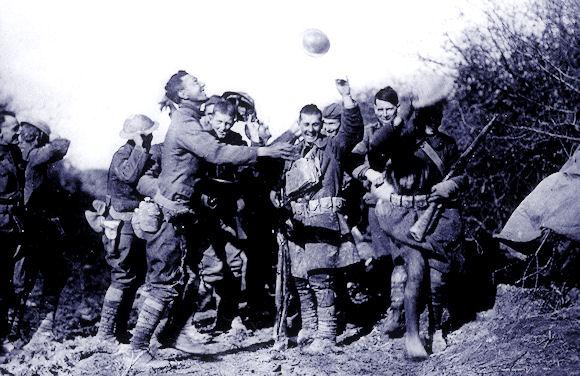 US troops cheer WWI end