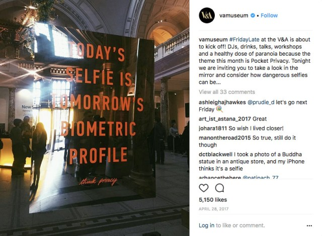 Todays selfie is tomorrows biometric profile