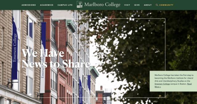 Marlboro front page-Emerson