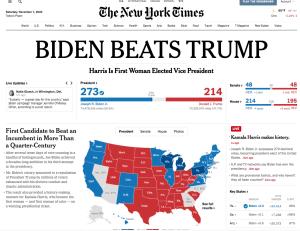 NYT Biden Beats Trump