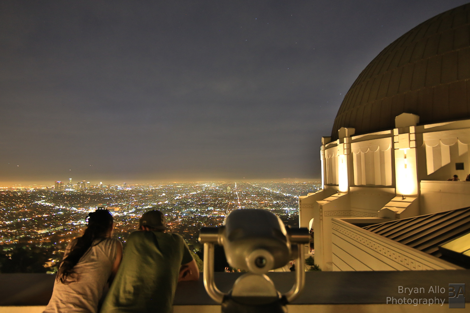 Los Angeles Sunset  Griffith Observatory  Shutter Warrior