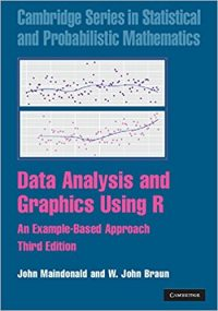Data Analysis and Graphics Using R – Maindonald and Braun (2003)