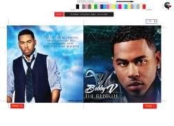 EMI: Bobby V CD Design