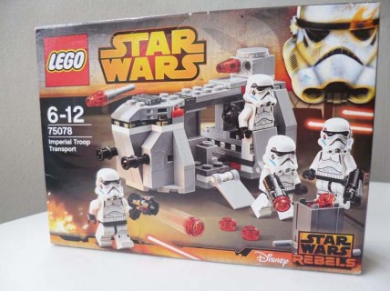 Lego Star Wars Imperial Troop Transport Review 1