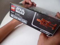 Lego Star Wars Microfighters Homing Spider Droid box side cover