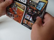 Lego Star Wars Microfighters Homing Spider Droid opening box