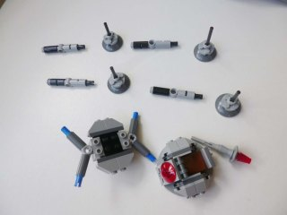 Lego Star Wars Microfighters Homing Spider Droid step 7