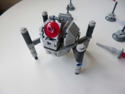 Lego Star Wars Microfighters Homing Spider Droid step 8