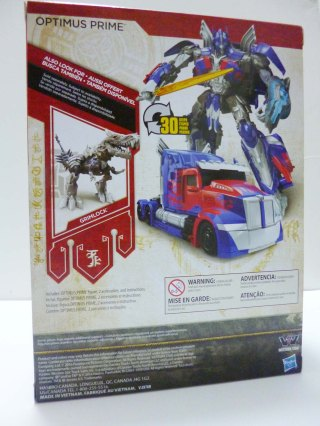 Transformers 5 Hasbro Optimus Prime 3