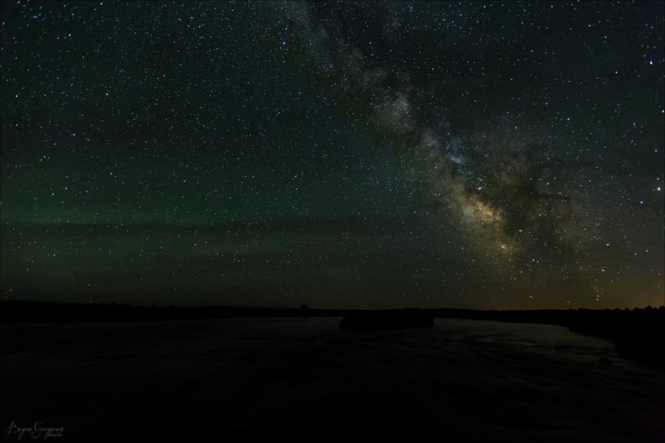 Milky way_henrys Fork_yellowstone Caldera_Bryan Gregson