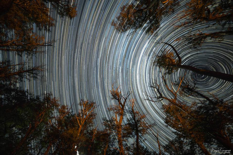 Star Trails_Bryan Gregson_Argentina