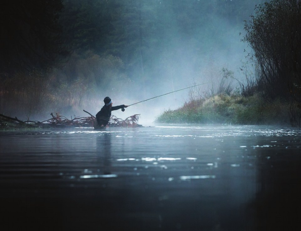 Bryan gregson photography advertising commercial for Fly fishing catalog