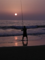 Sunset fisher