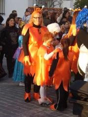 Orange people