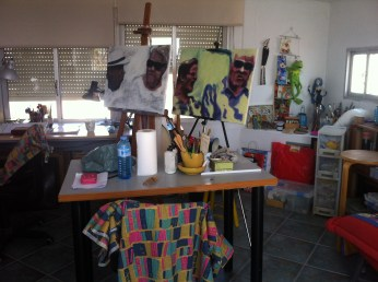 Carmen's studio