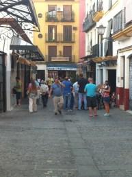 Market in calle Feria