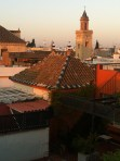 View from our rooftop
