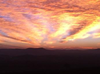 Sunrise over Vejer Too