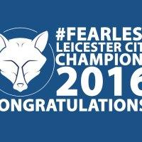 Congratulations Leicester City!