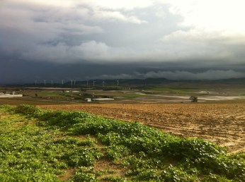 Clouds over Vejer