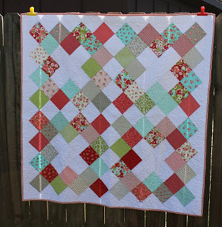 """Pinked Charms"" Tutorial/ Quilt Pattern"
