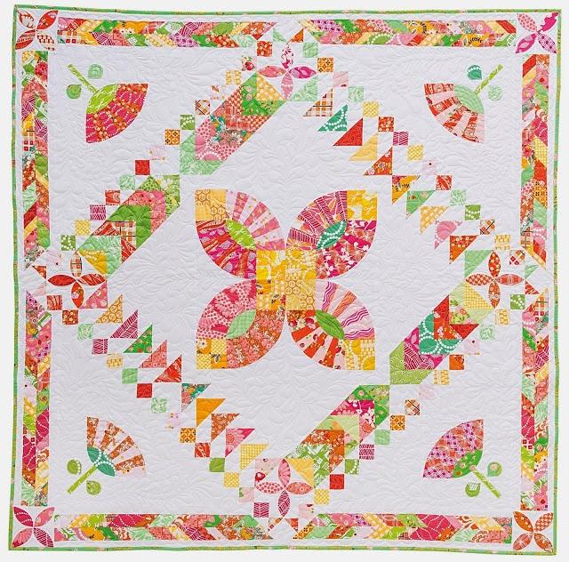 Modern medallion blog tour wedding bouquet for Modern house quilt pattern