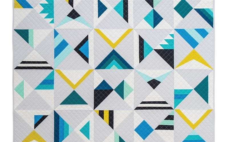 Wake {Modern Triangle Quilts}