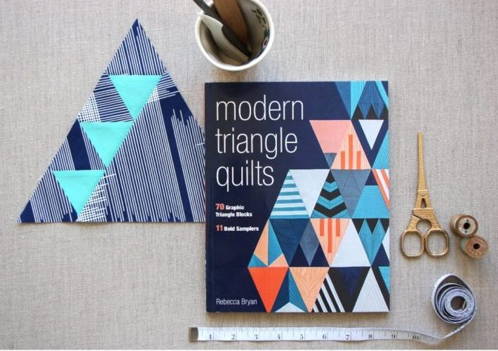 Modern Triangle Quilts {Blog Tour Results and Winner!}