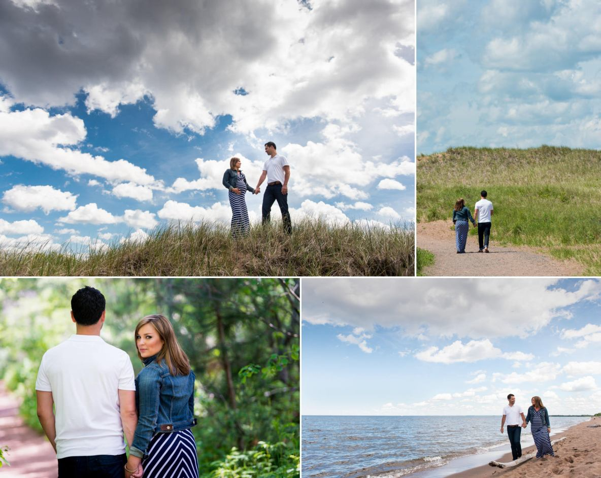 Maternity photos at Park Point in Duluth, MN.