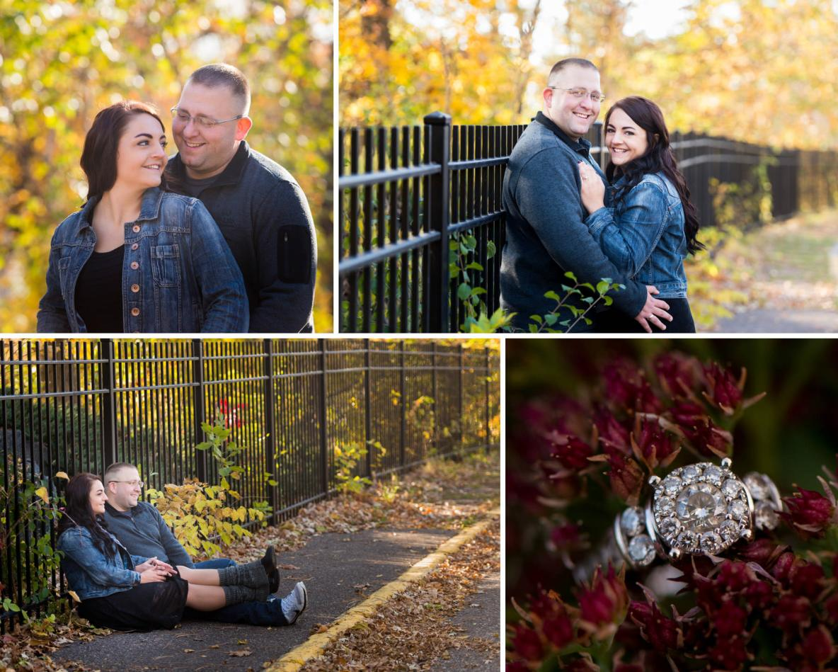 Frosty Sunrise Engagement Pics