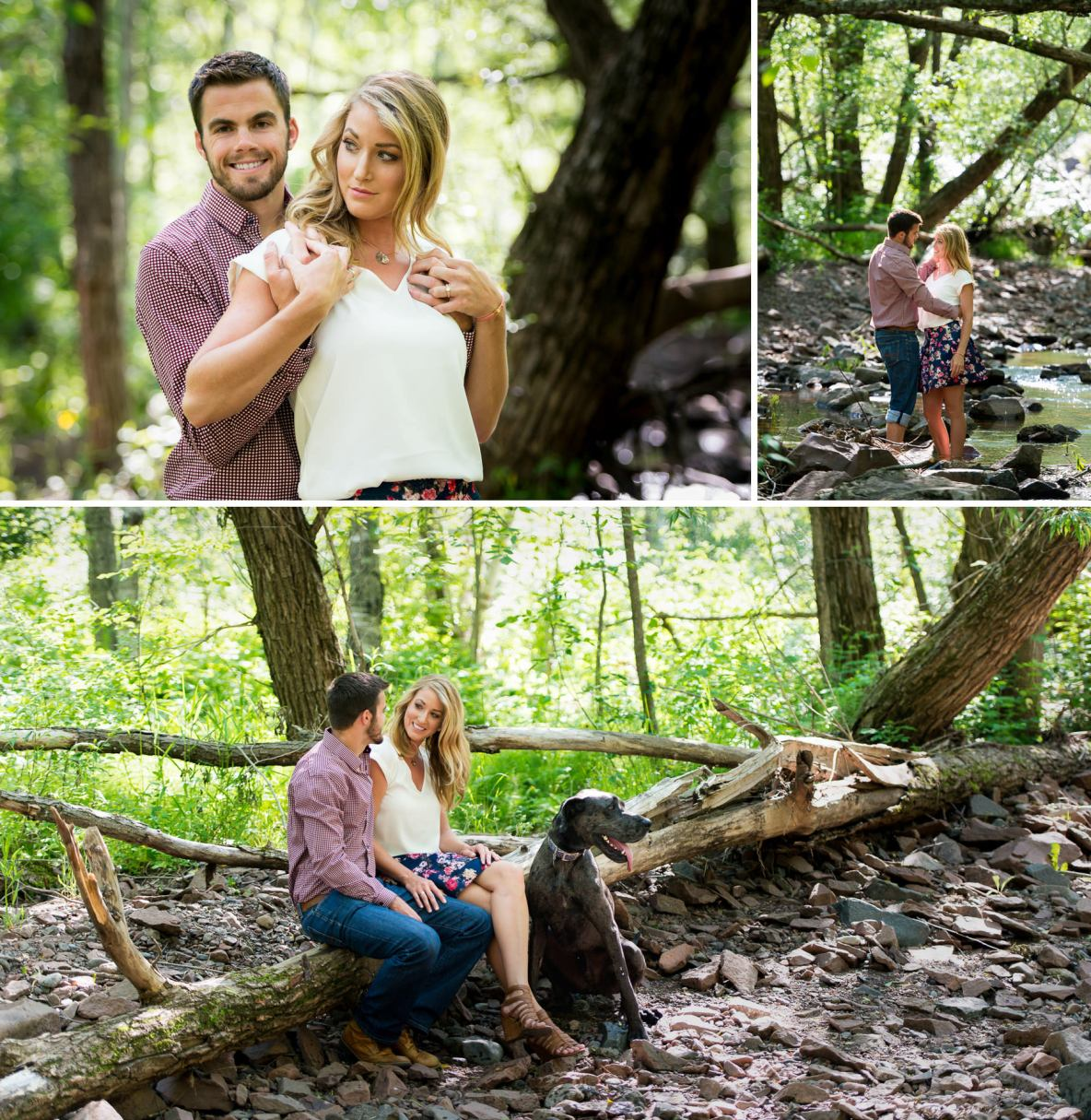 Amity Creek Engagement Photos