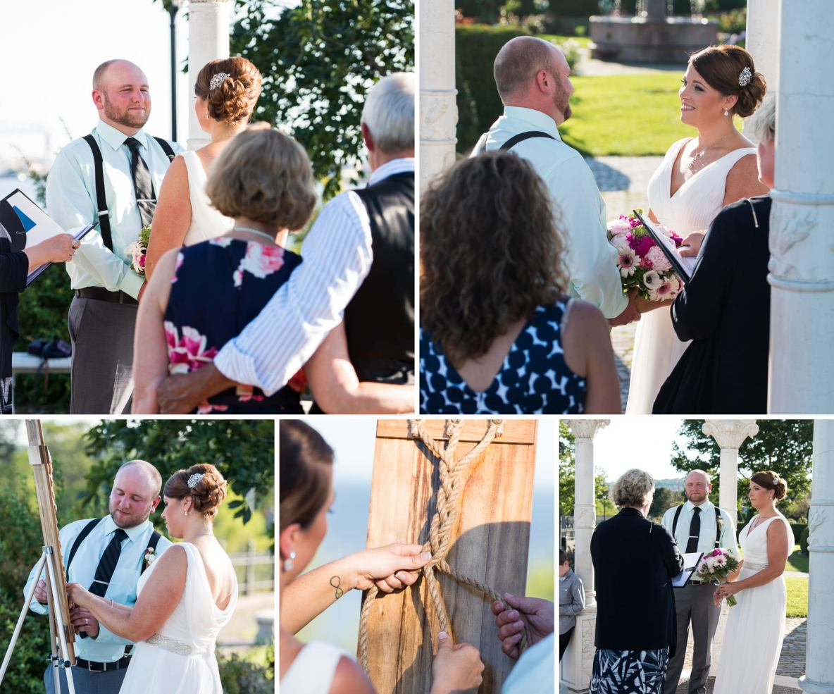 Duluth Rose Garden Destination Wedding