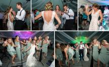Barefoot Wedding Reception Dancing