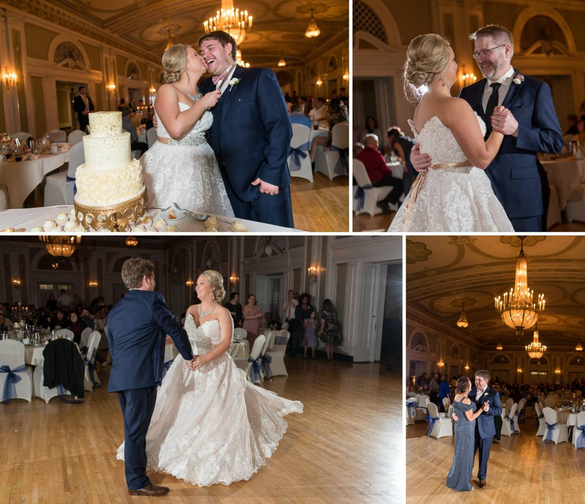 Abi and Alex's first dances.