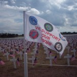 Take Time to Remember We Support Our Troops Flags