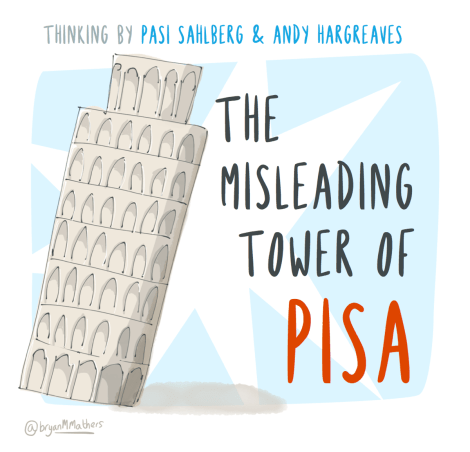 The misleading tower of PISA