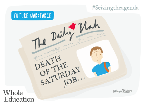 Death of the Saturday job